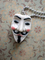 V for Vendetta mask by rude-and-reckless