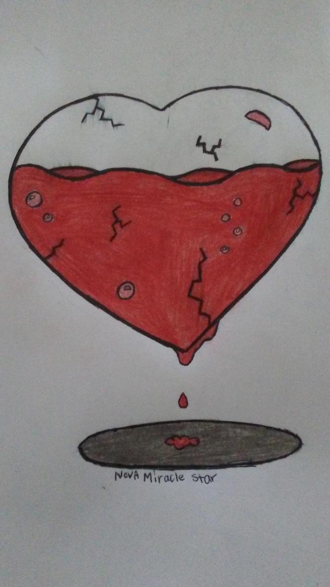 Leaking Heart by NovaMiracleStar