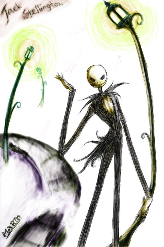 Jack Skellington halloween by Marto