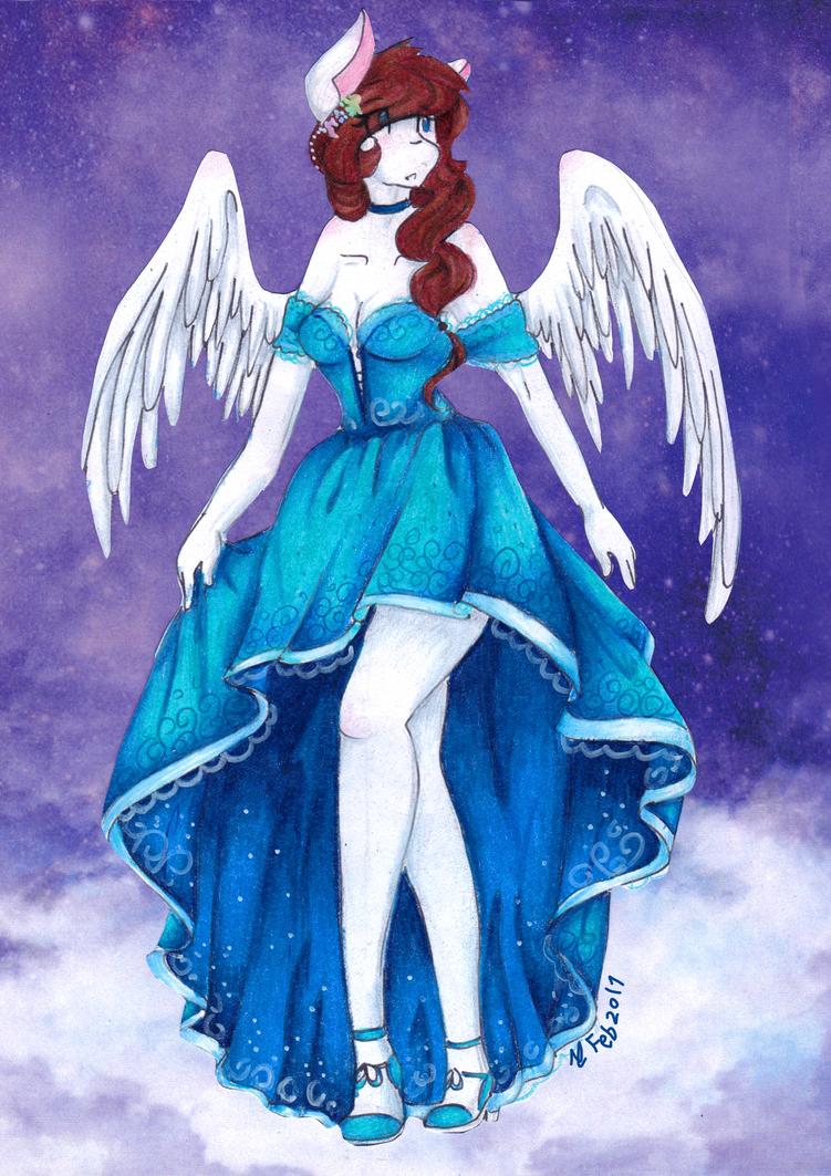 An Graceful Goddess by MsColorsplash