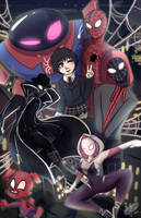 Spiderverse by MsColorsplash
