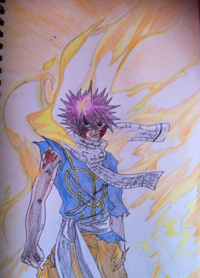 Natsu Dragneel Dragon Force by AgentAC on DeviantArt