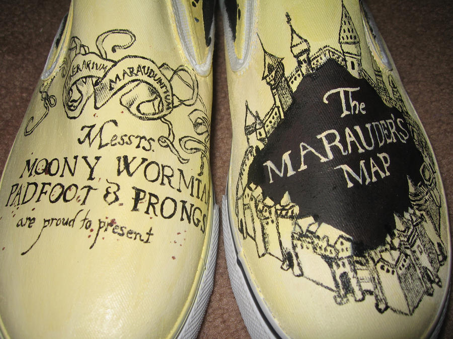 Harry Potter Shoes by Night-Alice