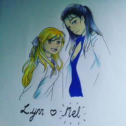 Lynn and Mel by LoreleiKR