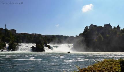 Rheinfall by Scrutatrice