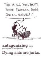 Antagonizing by simbalm