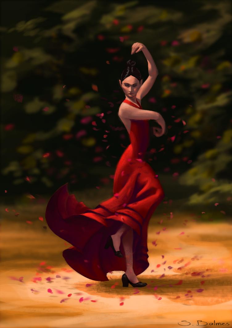 Flamenca by simbalm
