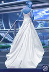 Liara T'soni in wedding Dress