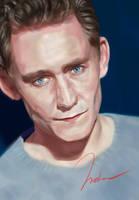 Tom Hiddleston by imDrakenD