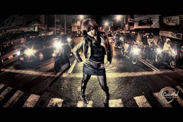 Lady of the Night by dantoadityo