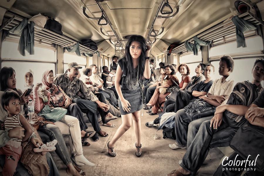 Train Chaos by dantoadityo