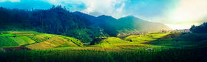 Colorful Tawangmangu, Indonesia