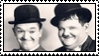 Laurel and Hardy stamp by NinthTaboo