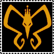 The Monarch Logo stamp by NinthTaboo