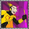 The Mighty Monarch stamp by NinthTaboo
