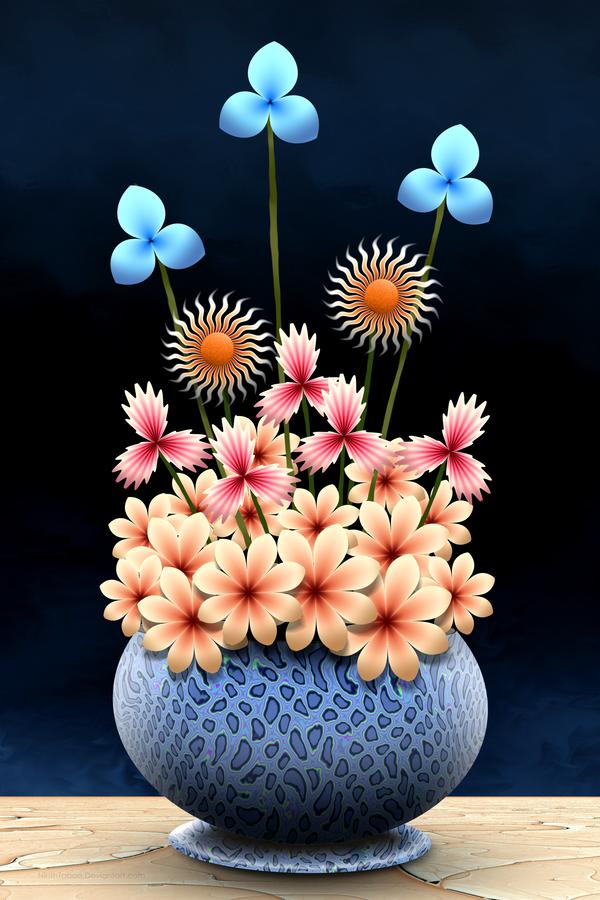 Fractal Floristry by NinthTaboo