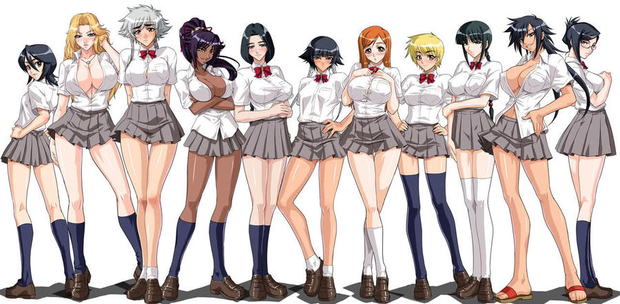Bleach School Female by alerkina2