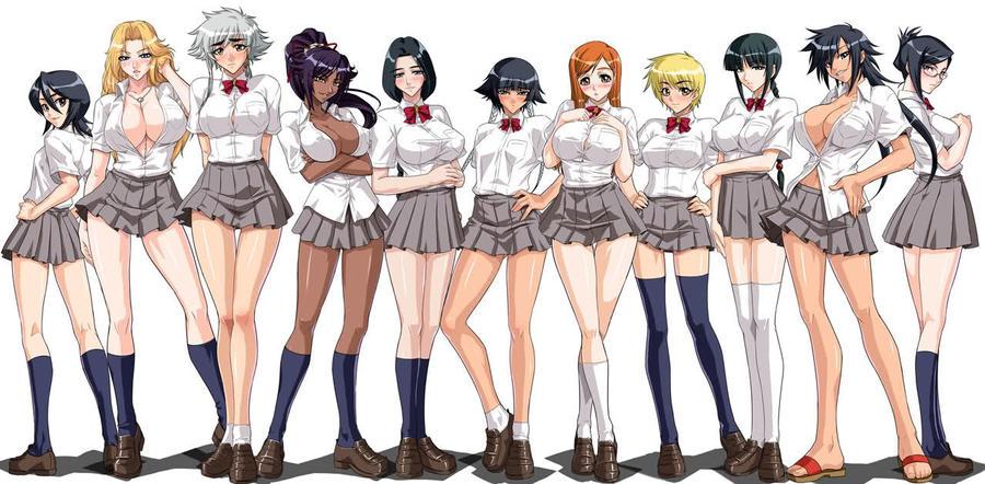 Bleach School Female by alerkina2
