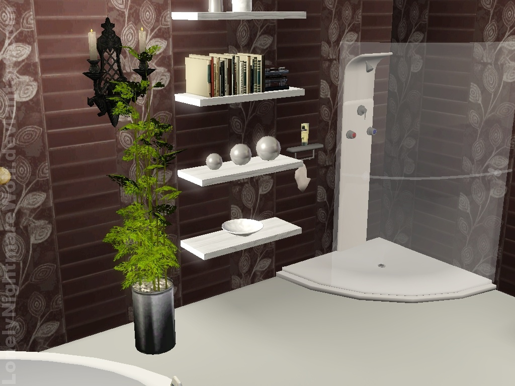 Toll The Sims 3 Bathroom By LonelyNightmareWolf ...