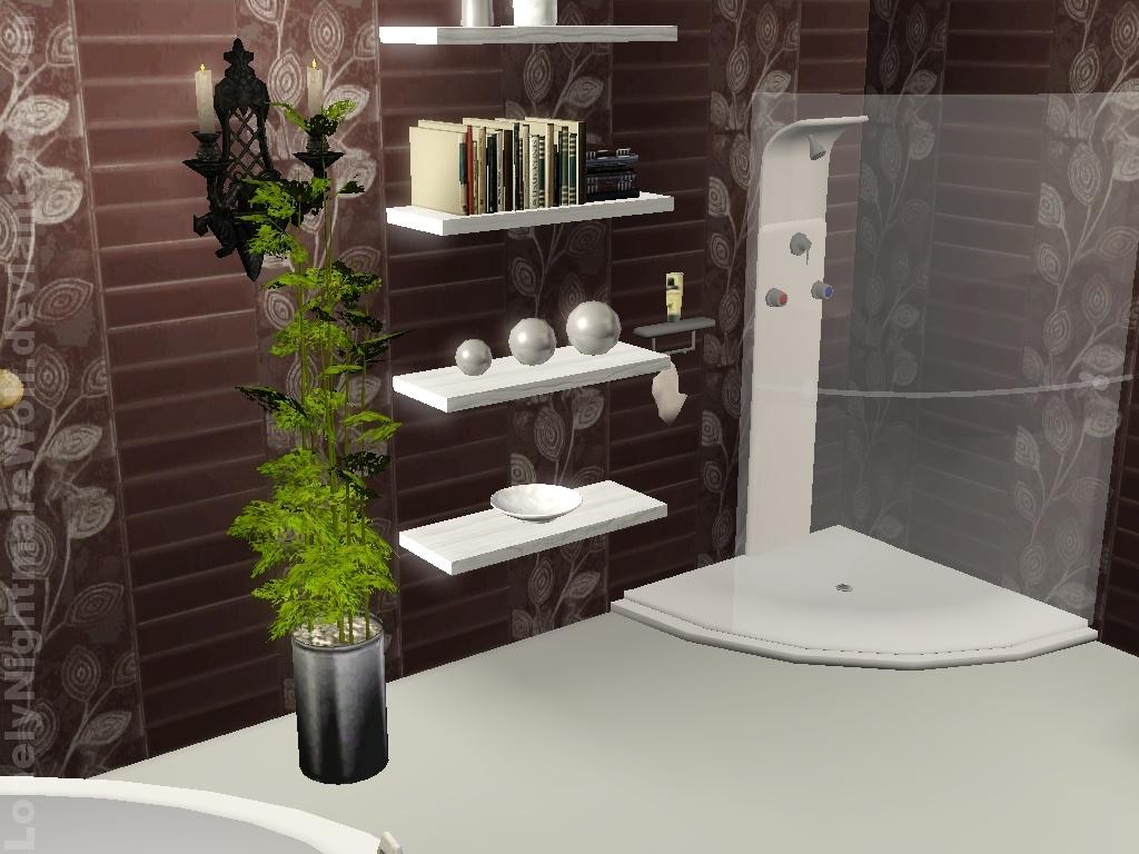 The sims 3 bathroom by lonelynightmarewolf on deviantart for Bathroom ideas sims 3