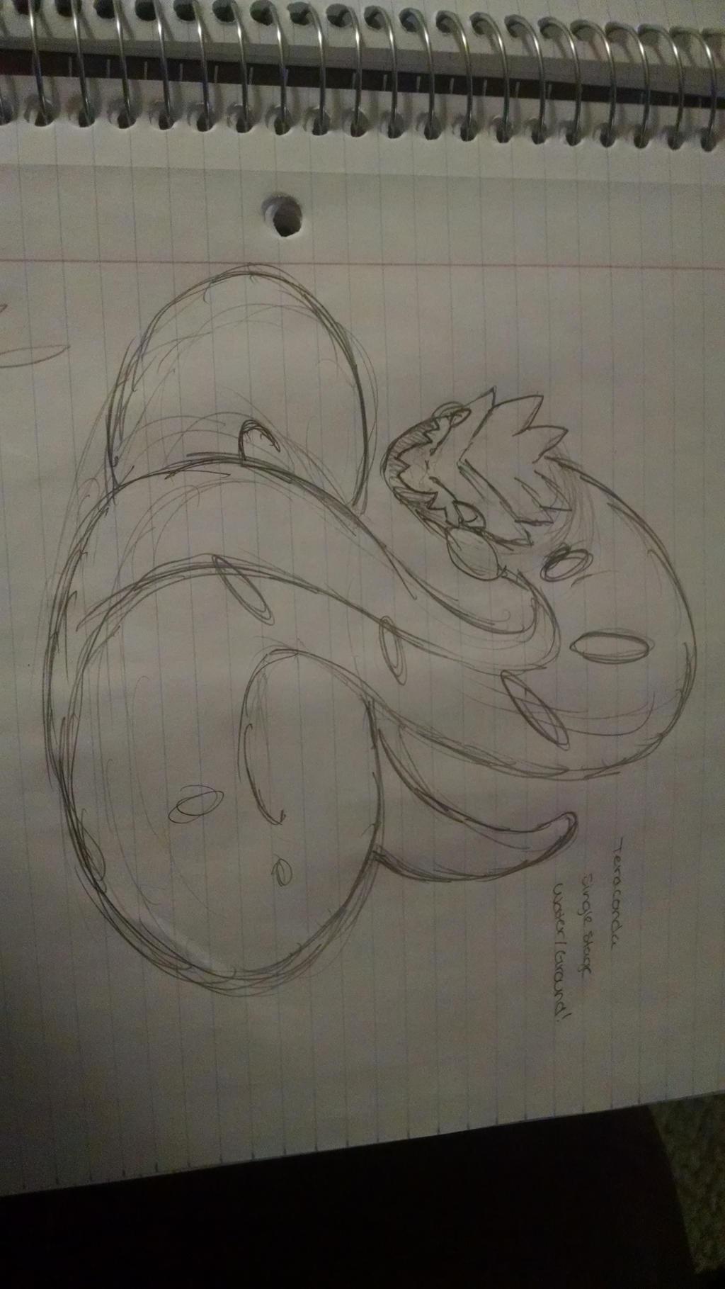 Teraconda Fakemon Concept