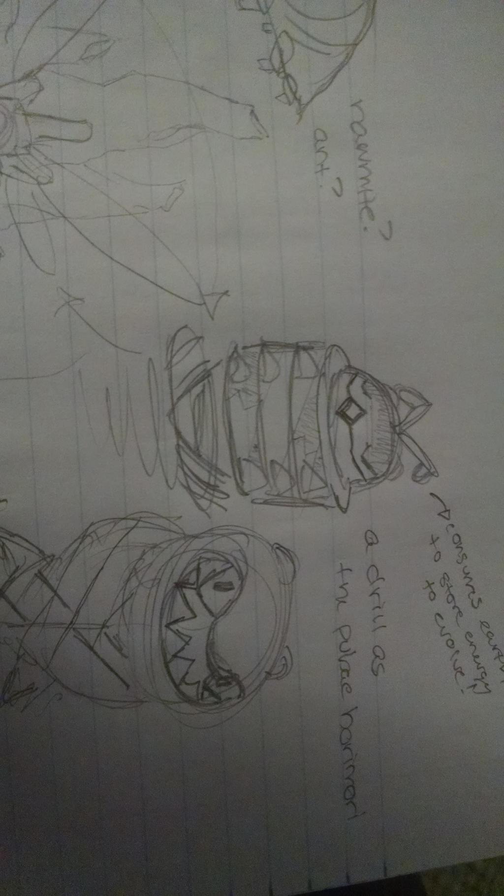 Bormori fakemon concept