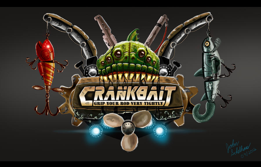 Game Logo - Crankbait by Skihaas1