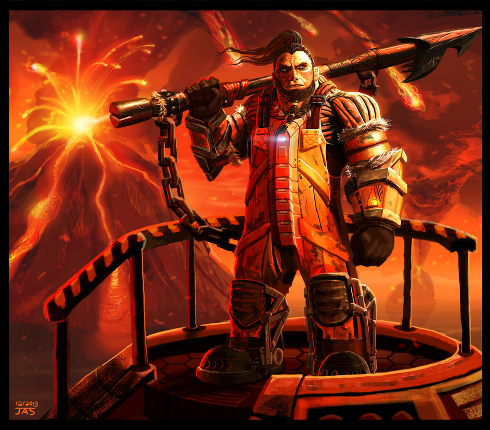 Sci-fi Fisherman 2 by Skihaas1