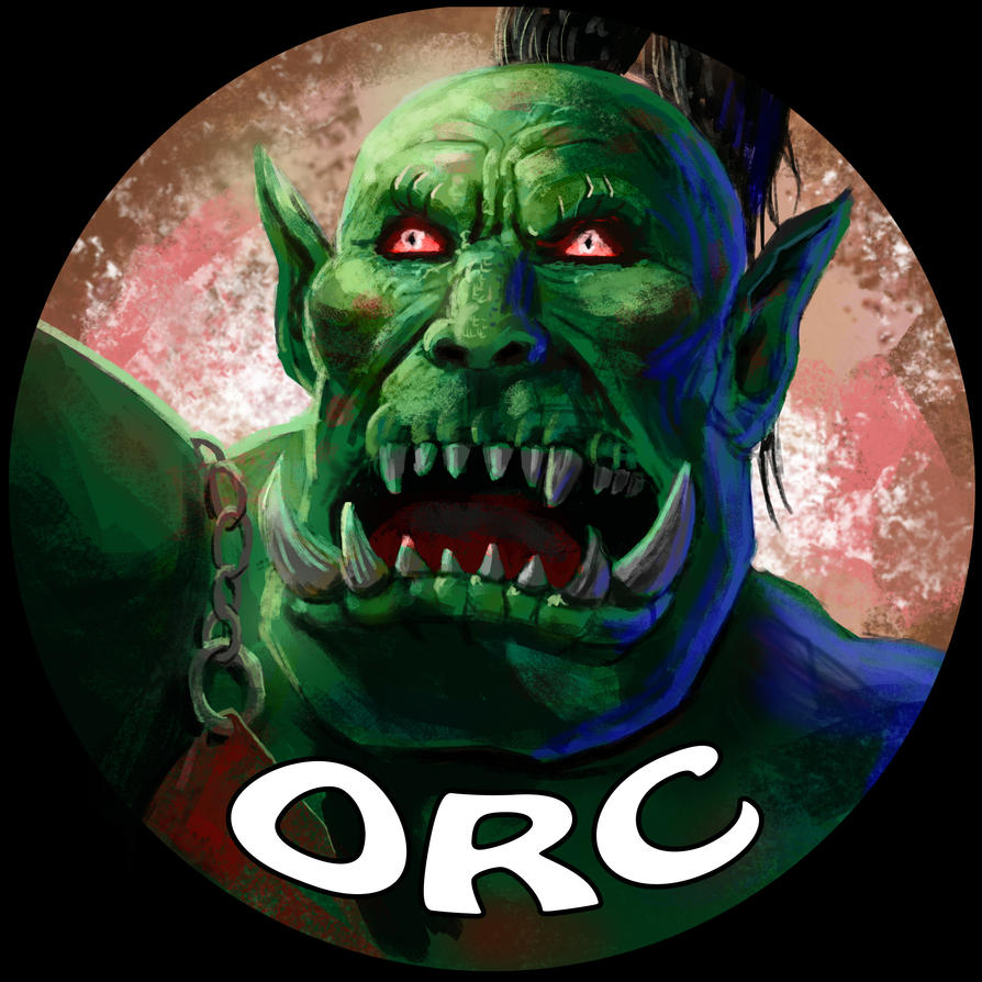 Orc Face by Skihaas1