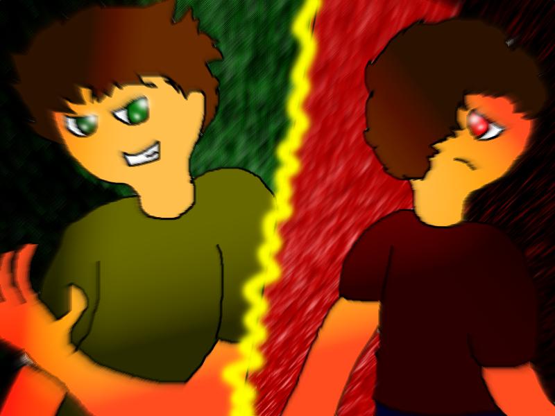 Liam vs Andrew again by ShadowClawZ