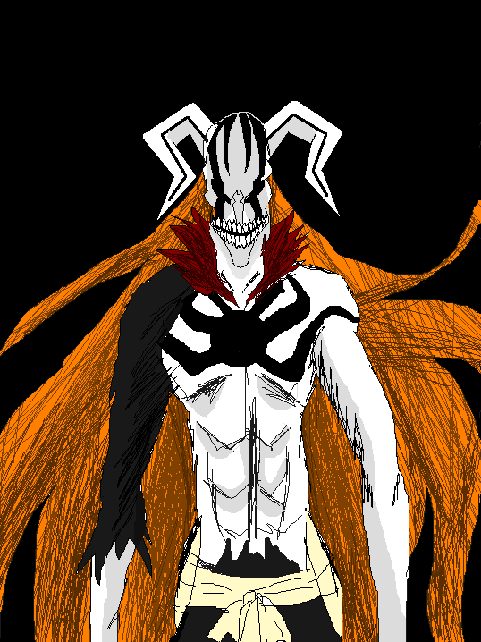 Ichigo Vasto Lorde hollow form by ShadowClawZ on DeviantArt