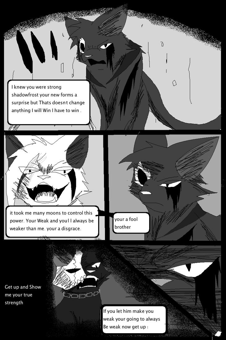 Shadow claw vs Shadow frost finale manga page 4 by ShadowClawZ