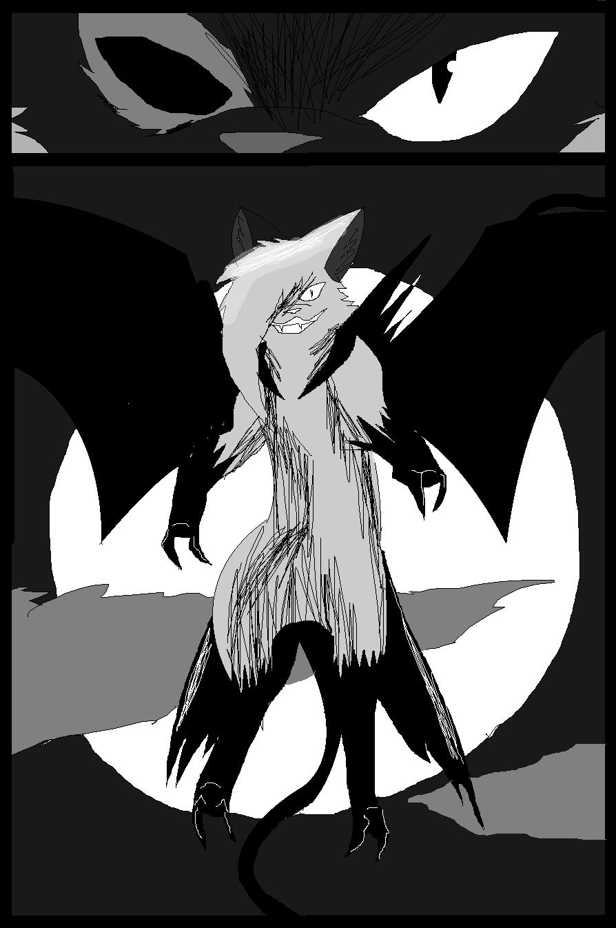Shadow claw vs Shadow frost finale manga page 10 by ShadowClawZ