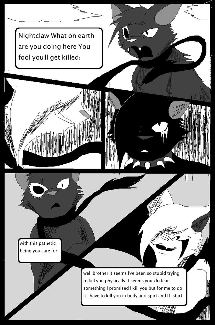 Shadow claw vs Shadow frost finale manga page 15 by ShadowClawZ