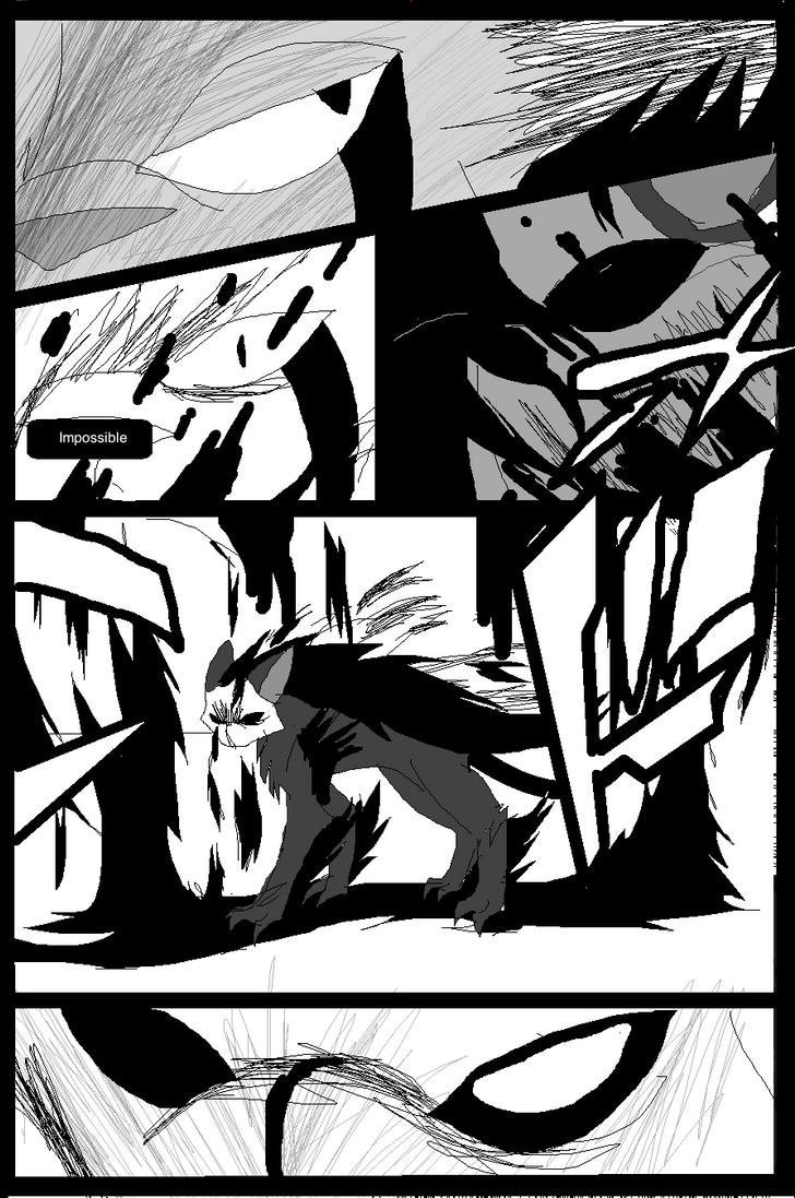 Shadow claw vs Shadow frost finale manga page 17 by ShadowClawZ