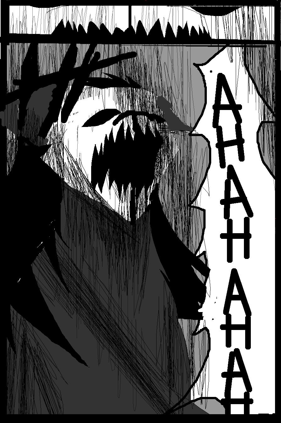 Shadow claw vs Shadow frost finale manga page 19 by ShadowClawZ