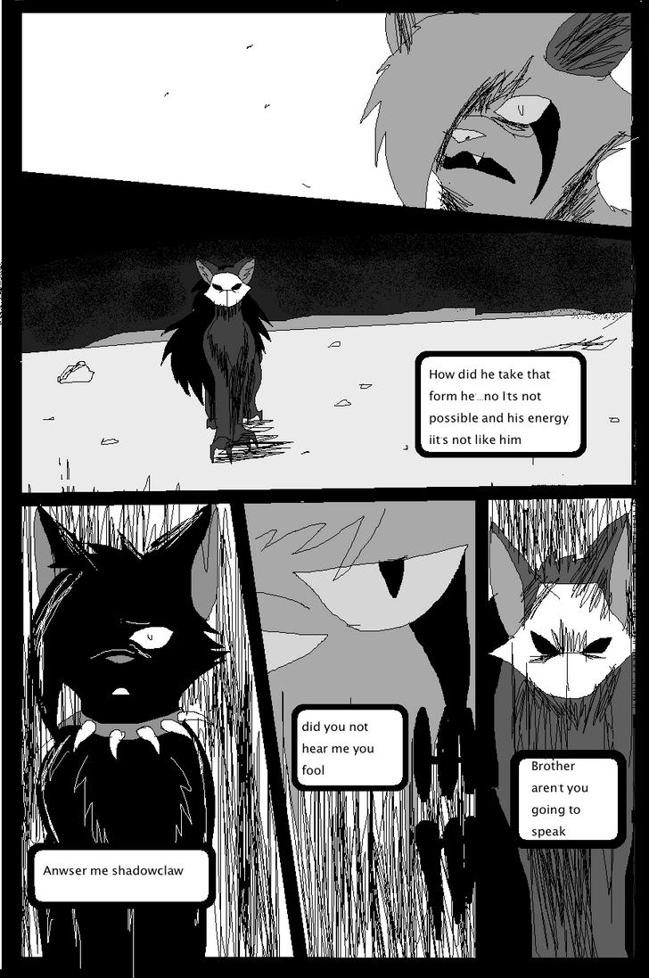 Shadow claw vs Shadow frost finale manga page 18 by ShadowClawZ