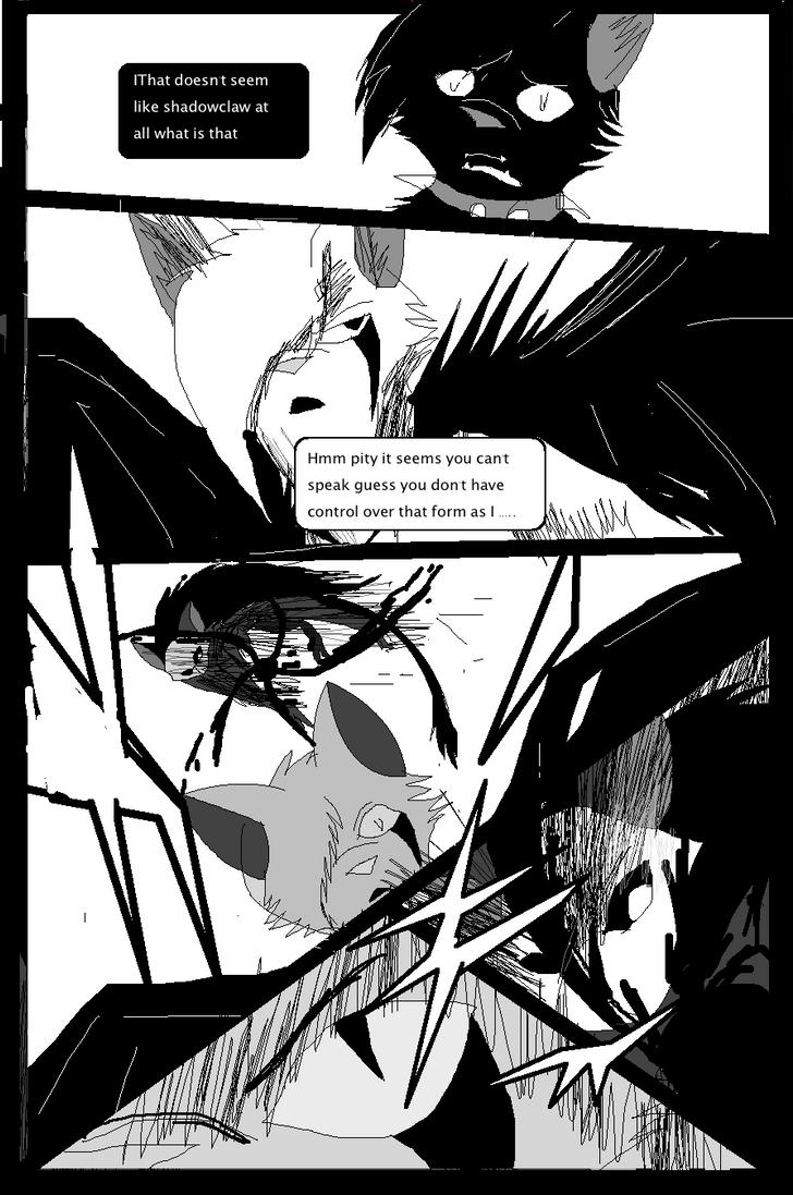 Shadow claw vs Shadow frost finale manga page 20 by ShadowClawZ