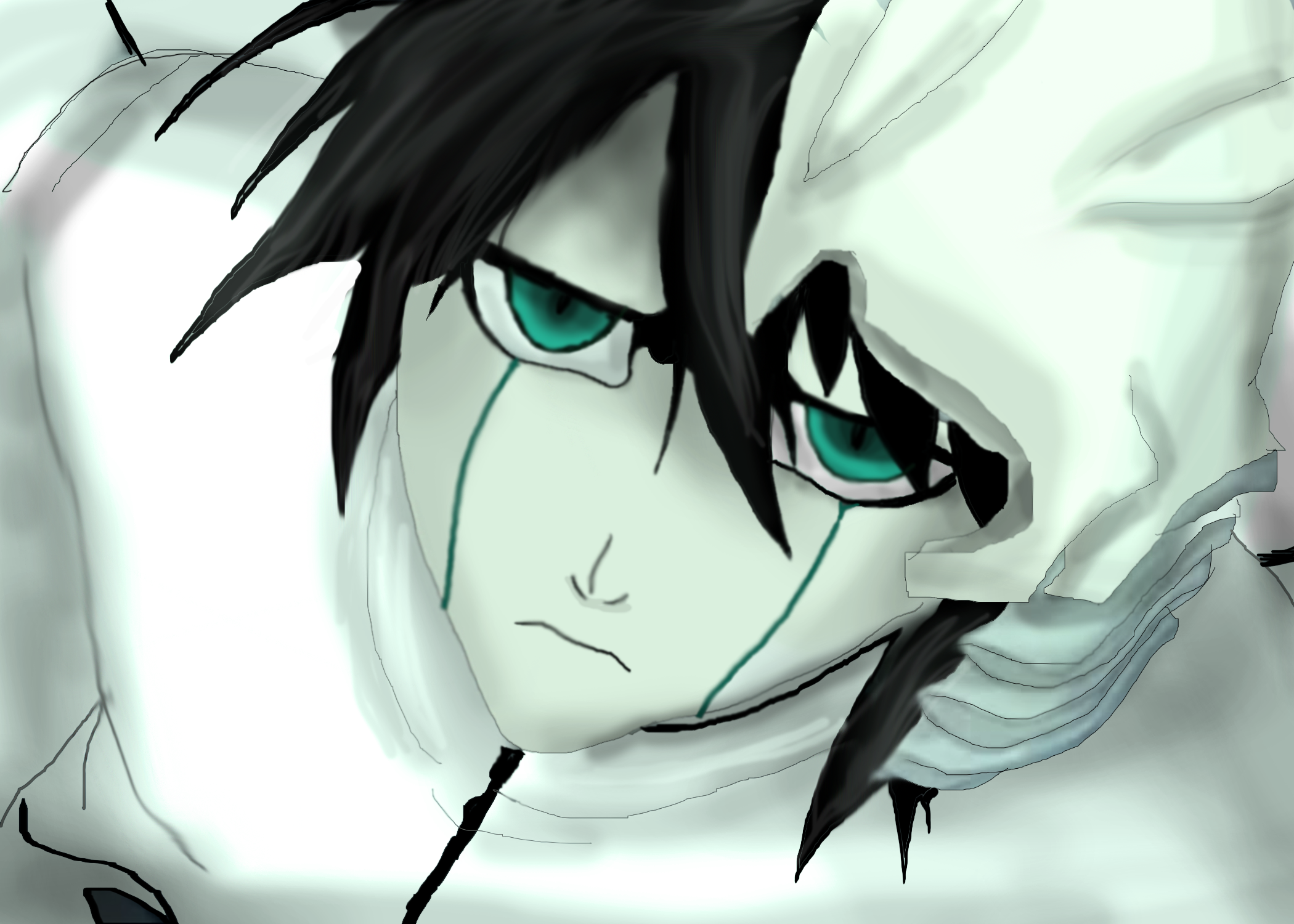 Ulquiorra by ShadowClawZ