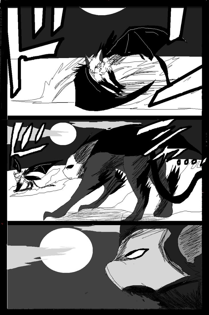 Shadow claw vs Shadow frost finale manga page 27 by ShadowClawZ