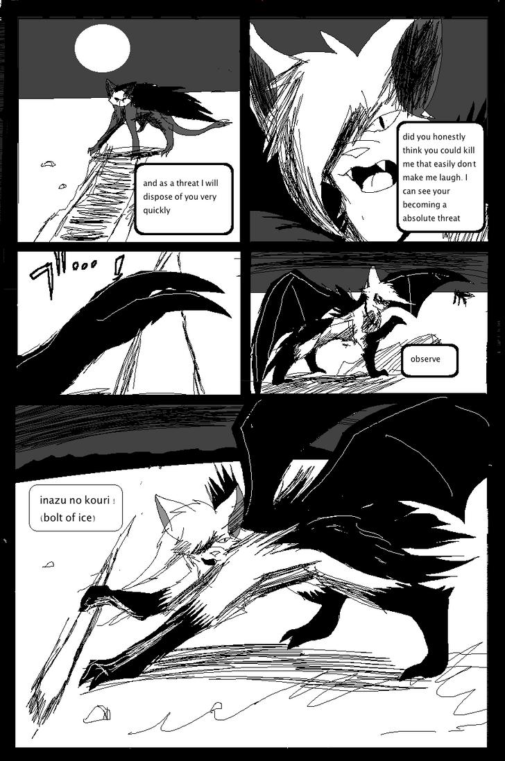 Shadow claw vs Shadow frost finale manga page 28 by ShadowClawZ