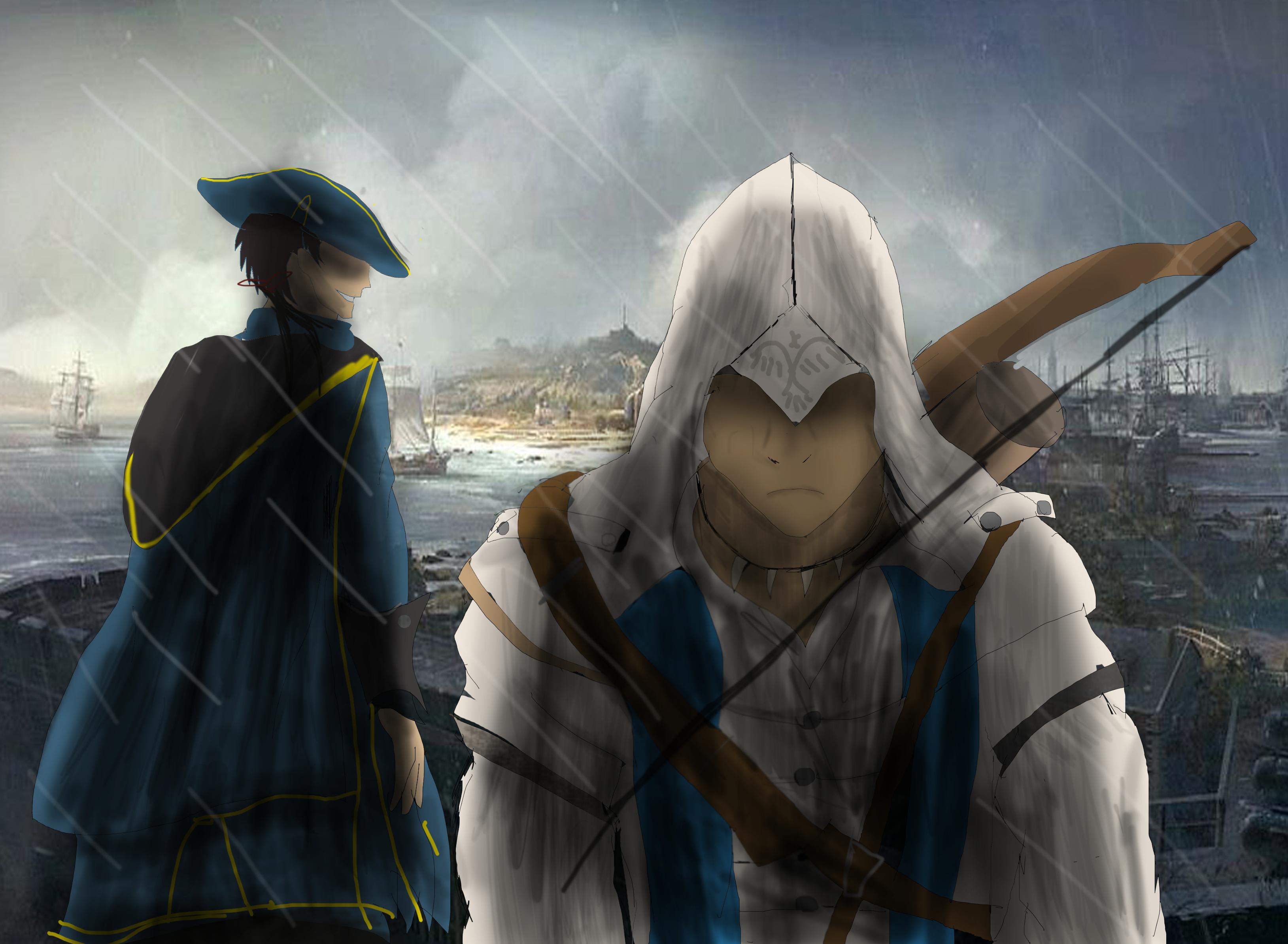 Assassins Creed 3 Like father like son by ShadowClawZ