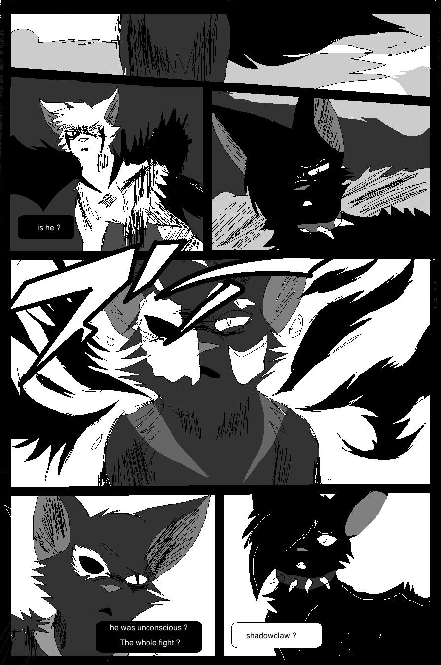Shadow claw vs Shadow frost finale manga page 30 by ShadowClawZ