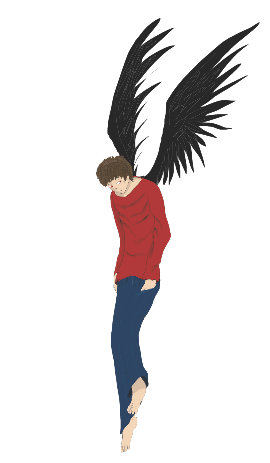 Black wing by ShadowClawZ