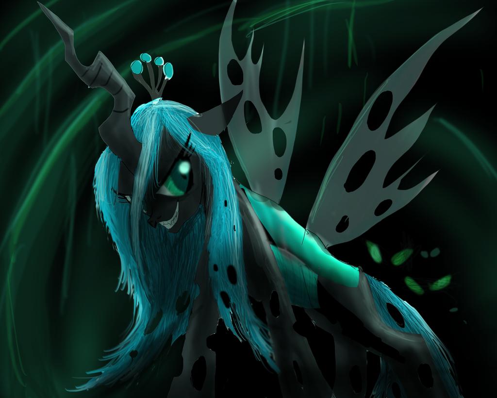 Queen Chrysalis by ShadowClawZ