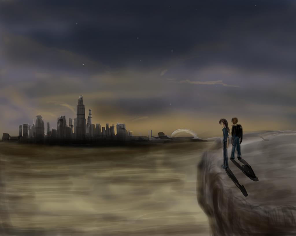 The Hunt Dusker city by ShadowClawZ