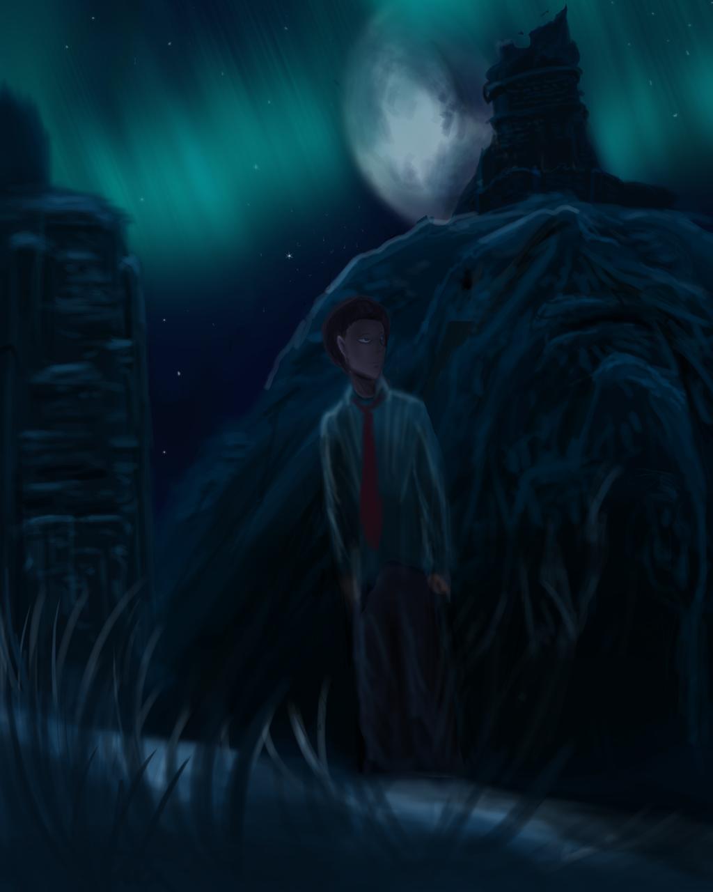 Taking a stroll through Skyrim by ShadowClawZ