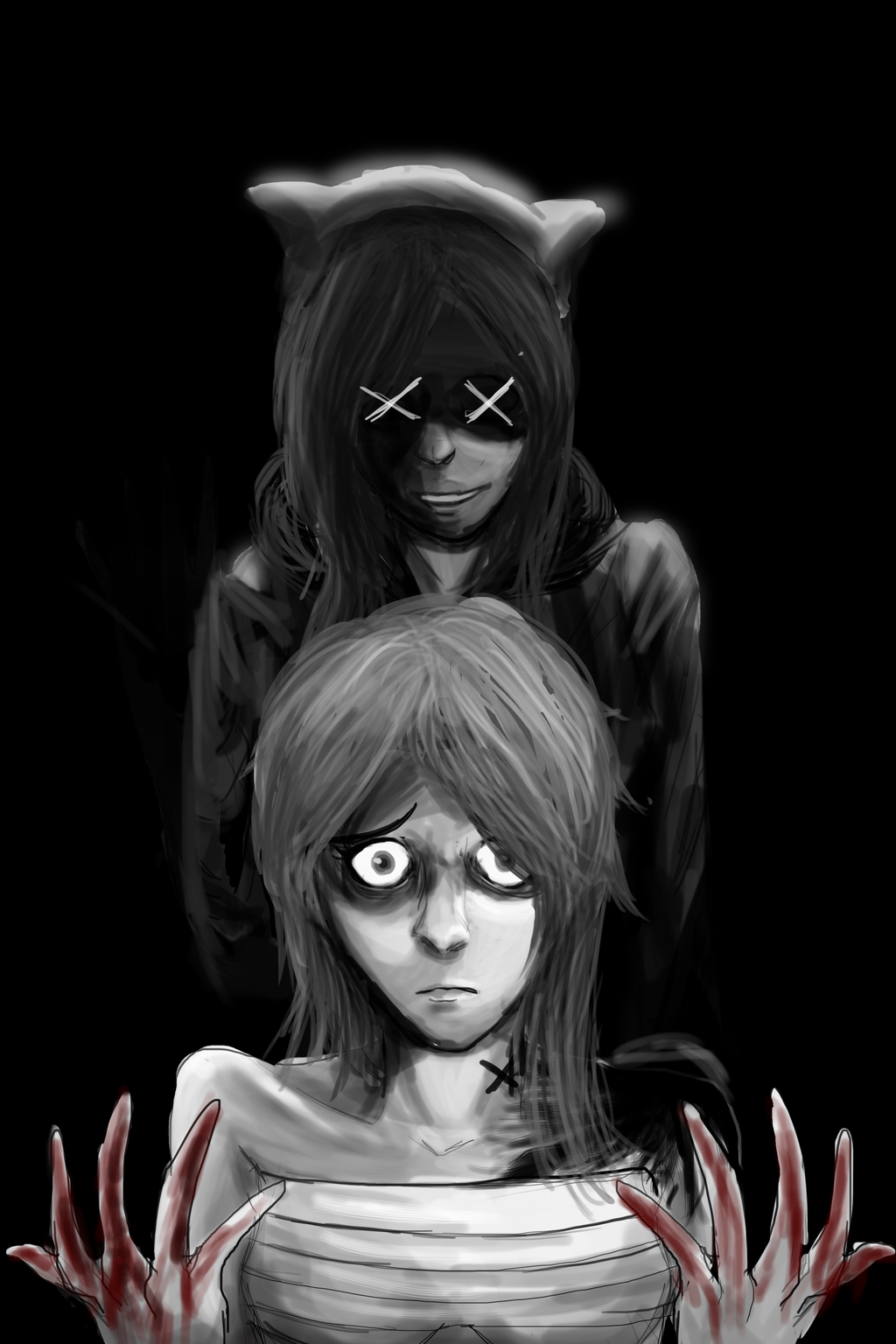 Welcome To The Void [illustration] by ShadowClawZ