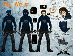 The Wolf OC Reference Sheet by ShadowClawZ