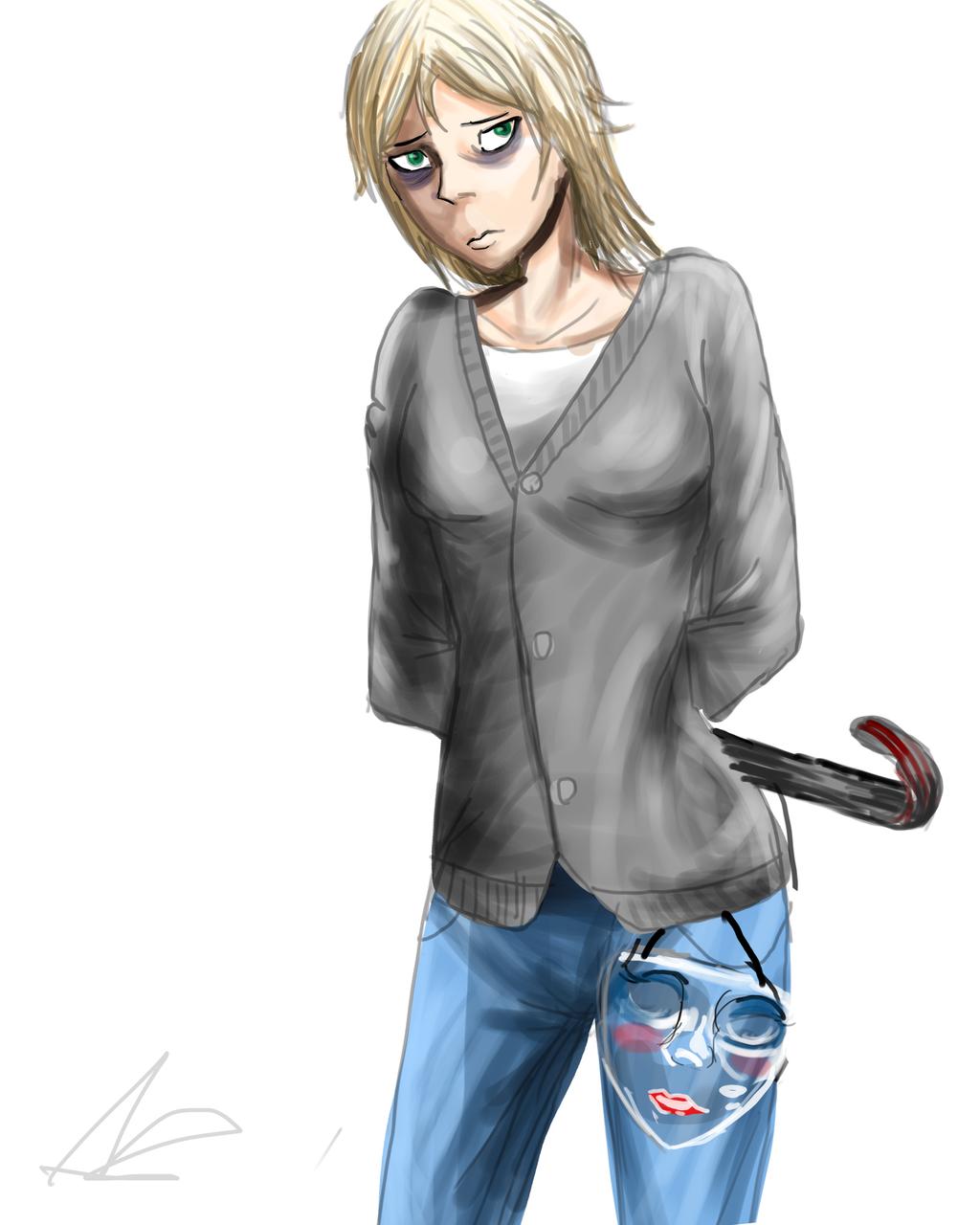 Nora sketch by ShadowClawZ